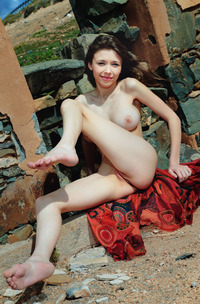 Mila Azul Has Fun Teasing With Her Tight Body