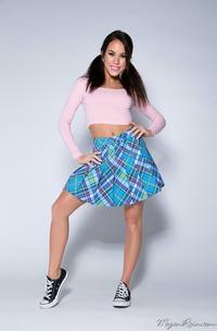 Megan Rain In Peek Up My Skirt