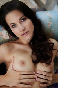 Hot Lauren Christ Strips Naked