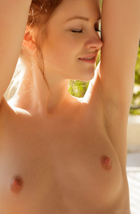 Hot Skinny Model Alice May Teases