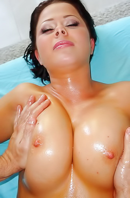 Another Slut Gets Fucked On The Massage Table