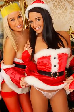 Santa's Sexy Helpers