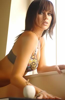 Erotic Brunette Myla