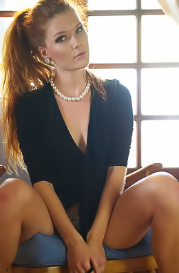 Sexy Redhead Mia Sollis