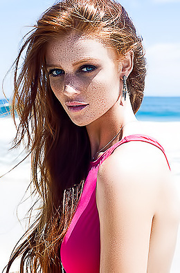 Raw Beauty Of Blondes, Redheads And Freckled Girls