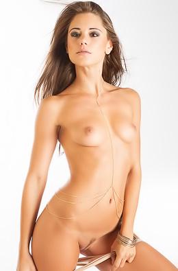 Marketa in Gold Strings