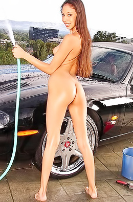 Alexis Love - Carwash Images