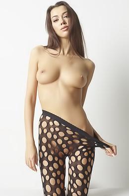 Sexy Nicolette Pantyhose Passion
