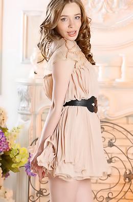 Naughty Brunette Angel Britney A