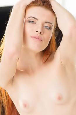 Small Titted Goddess Redhead Kiva