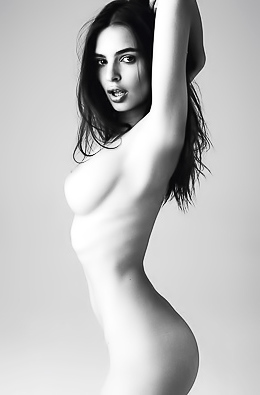 Naked Female Celebs And Models In BLACK AND WHITE!