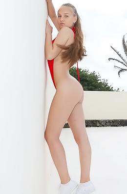 Angel B Megan Presenting Her Sexy Body