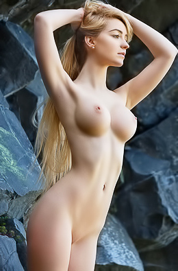 Nakedness At The Rocks