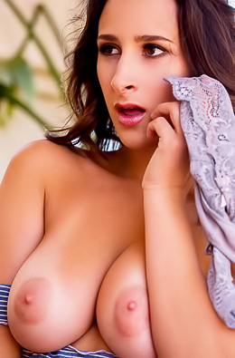 Ashley Adams With Monster Big Boobs