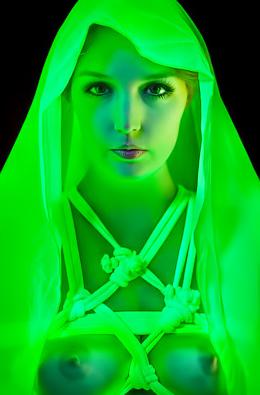 Tied up between the neon lights