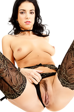 Foxxi Black Hot Striptease