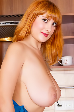 Valory Fleur With Natural Big Tits