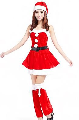 Hot Girls Wishing You Merry Xmas & Happy New Year!
