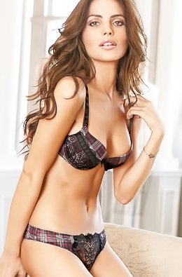Bianca Balti Showing Off Her Hot Body In Lingerie