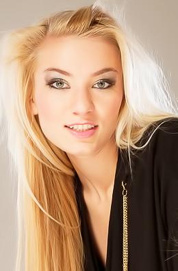 Tereza Wearing Black Shirt