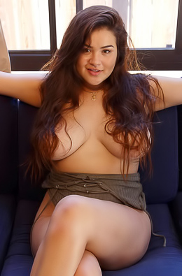 Mercedes Llano Shows Her Big Boobs For You