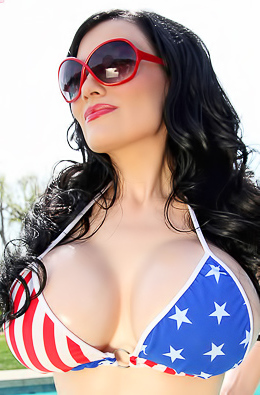 Dahlia Dark USA Bikini