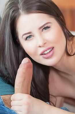 Young Slut Cassie Fire Sucking Cock